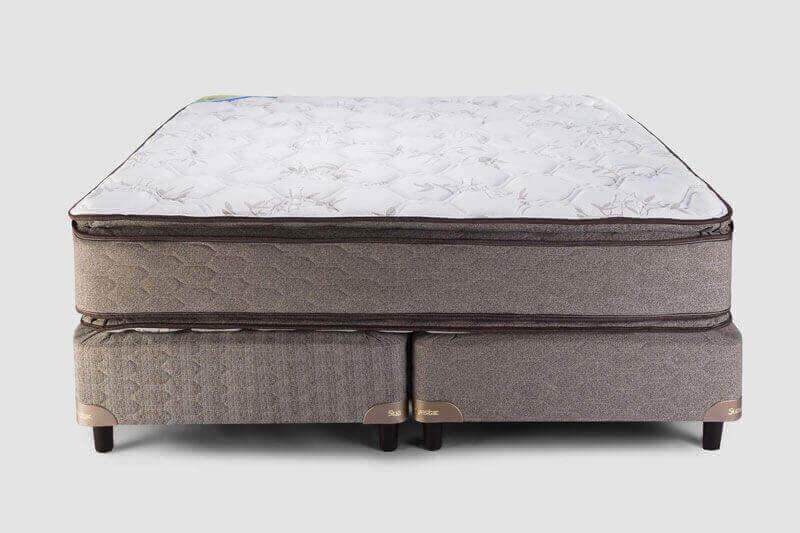 Colchón con Sommier  Boreal Pillow Top 2,00 x 2,00 x 61