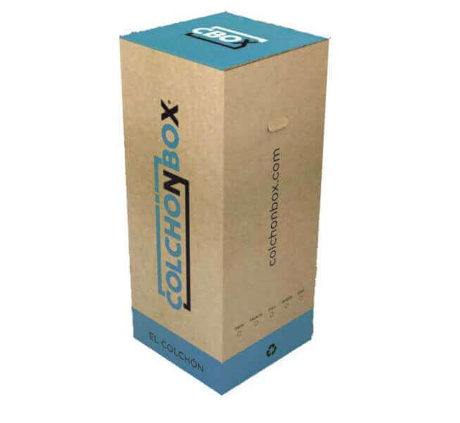 ColchónBox de  Espumas Combinadas de 0,80 x 1,90 x 27