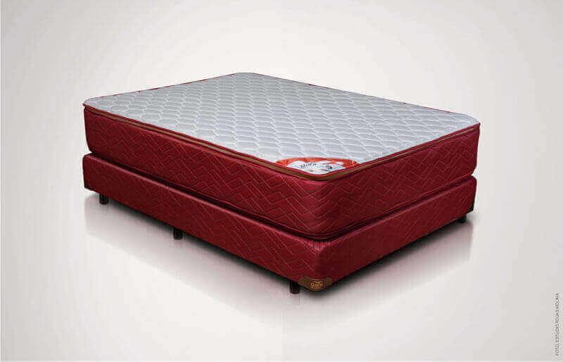 Colchón con Sommier  Red con Pillow Top 0,80 x 1,90 x 60