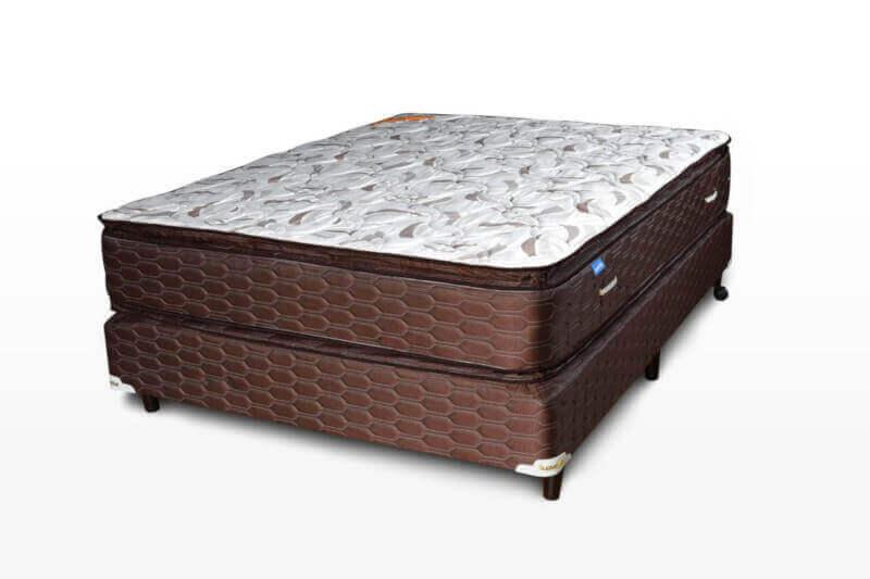 Colchón con Sommier  Superstar Pillow Top 1,40 x 1,90 x 59